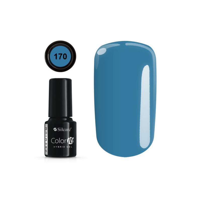 Gél lak Color IT Premium 170 6 ml Modrá