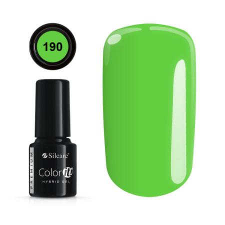 Gél lak Color IT Premium 190 6 ml NechtovyRAJ.sk - Daj svojim nechtom všetko, čo potrebujú