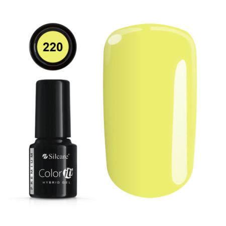Gél lak Color IT Premium 220 6 ml NechtovyRAJ.sk - Daj svojim nechtom všetko, čo potrebujú