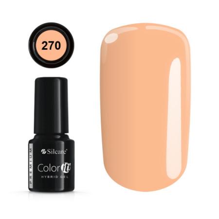 Gél lak Color IT Premium 270 6 ml