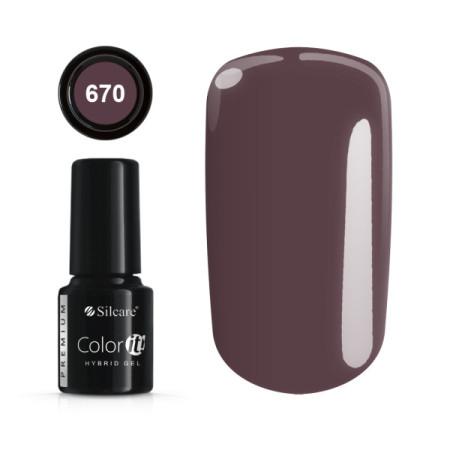 Gél lak Color IT Premium 670 6 ml