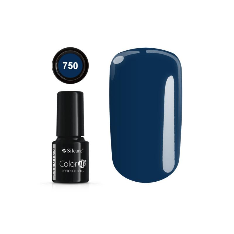 Gél lak Color IT Premium 750 6 ml Modrá