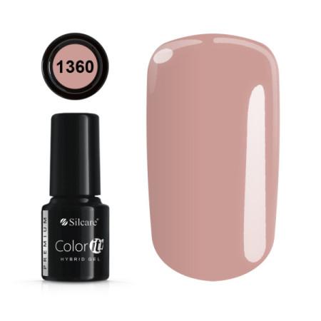 Gél lak Color IT Premium 1360 6 ml NechtovyRAJ.sk - Daj svojim nechtom všetko, čo potrebujú