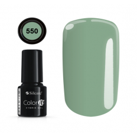 Gél lak Color IT Premium 550 - 6 ml - NechtovyRAJ.sk