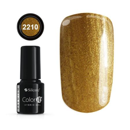 Gél lak Color IT Premium Gold 2210 6g NechtovyRAJ.sk - Daj svojim nechtom všetko, čo potrebujú