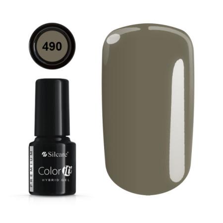 Gél lak Color IT Premium 490 6 ml NechtovyRAJ.sk - Daj svojim nechtom všetko, čo potrebujú