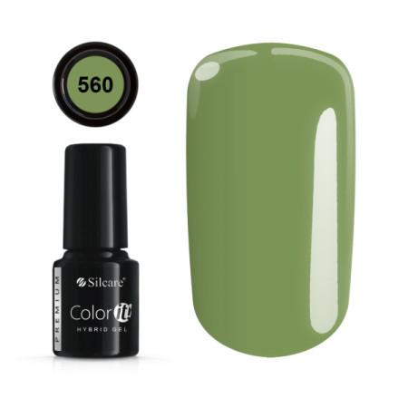 Gél lak Color IT Premium 560 6 ml