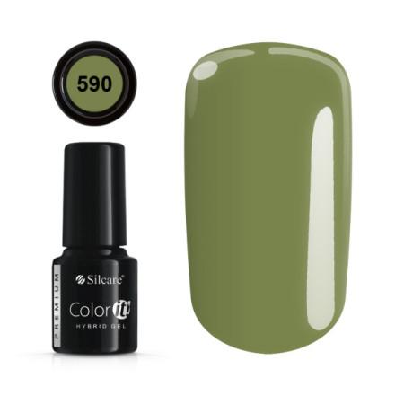 Gél lak Color IT Premium 590 6 ml