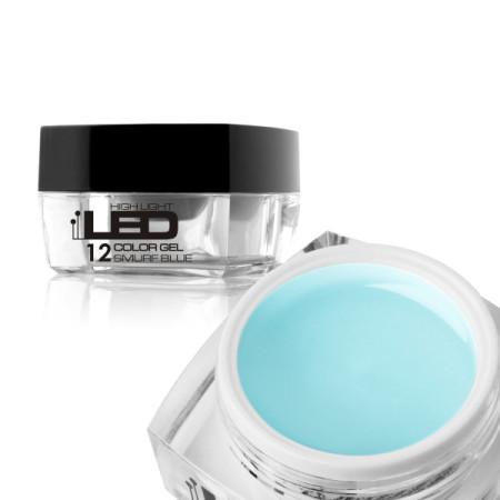 Led gél High Light - smurf blue NechtovyRAJ.sk - Daj svojim nechtom všetko, čo potrebujú