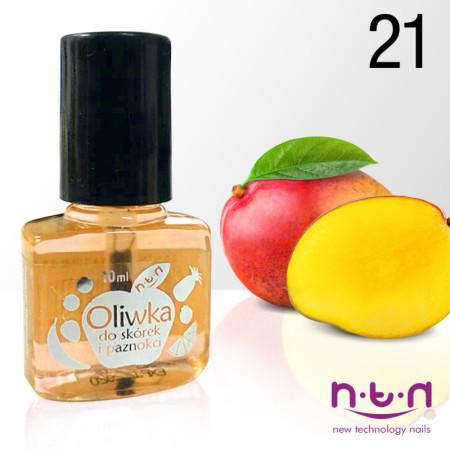 Olejček na nechty vôna mango 21 10 ml NechtovyRAJ.sk - Daj svojim nechtom všetko, čo potrebujú