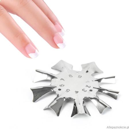Kovová šablóna na francúzsku manikúru FT02 NechtovyRAJ.sk - Daj svojim nechtom všetko, čo potrebujú