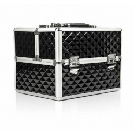 Kozmetický kufrík 503 - 3D čierny NechtovyRAJ.sk - Daj svojim nechtom všetko, čo potrebujú