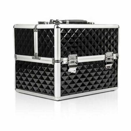 Kozmetický kufrík 503 - 3D čierny