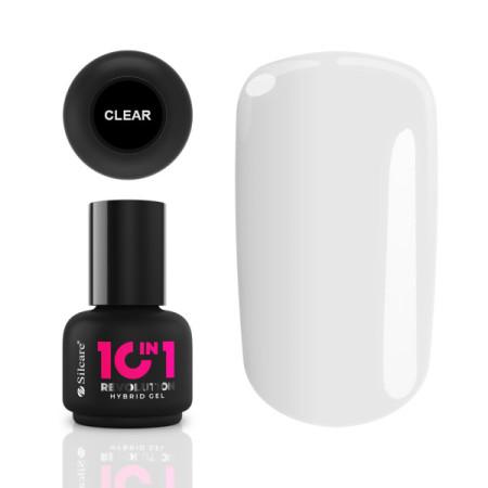 10in1 Revolution Hybrid Gel - Clear 15ml NechtovyRAJ.sk - Daj svojim nechtom všetko, čo potrebujú