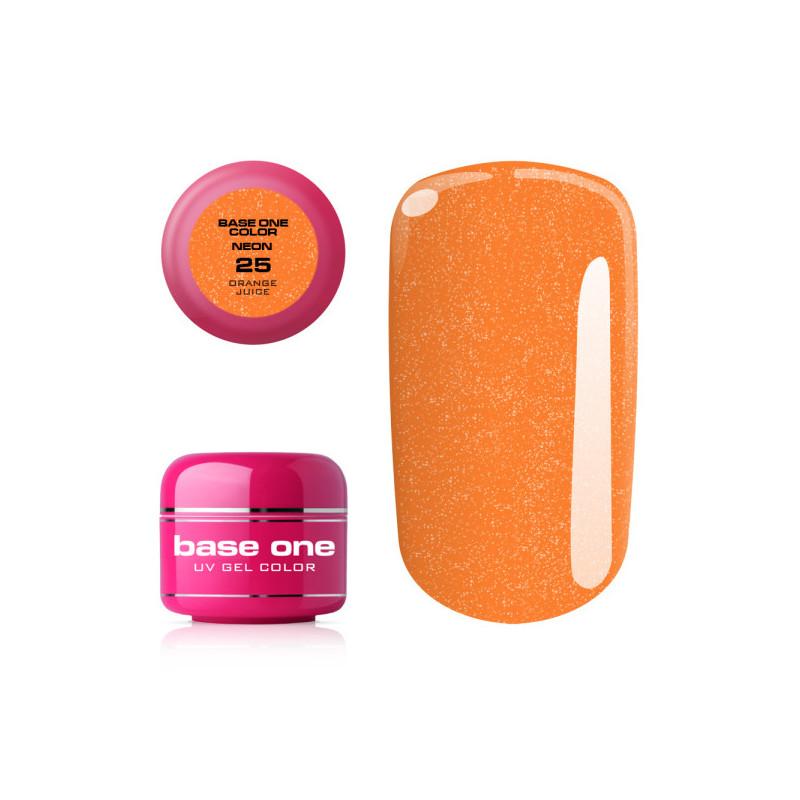 Silcare Base one neonový gél 25 Orange Juice 5g NechtovyRAJ.sk - Daj svojim nechtom všetko, čo potrebujú