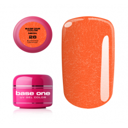 Silcare Base one neonový gél 26 Burning Orange 5g NechtovyRAJ.sk - Daj svojim nechtom všetko, čo potrebujú