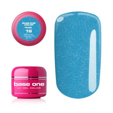 Silcare Base One Pixel UV gél 18 Bahama Holidays Blue 5 g NechtovyRAJ.sk - Daj svojim nechtom všetko, čo potrebujú