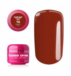 Base one red gél - Coffee red 16