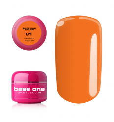 Base one farebný gel Orange nectar 8