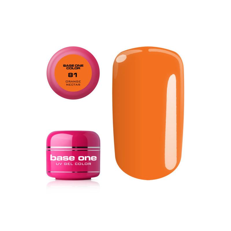 Base one farebný gel Orange nectar 81 NechtovyRAJ.sk - Daj svojim nechtom všetko, čo potrebujú
