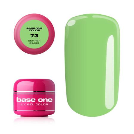 Base one farebný gel Summer grass 73 NechtovyRAJ.sk - Daj svojim nechtom všetko, čo potrebujú