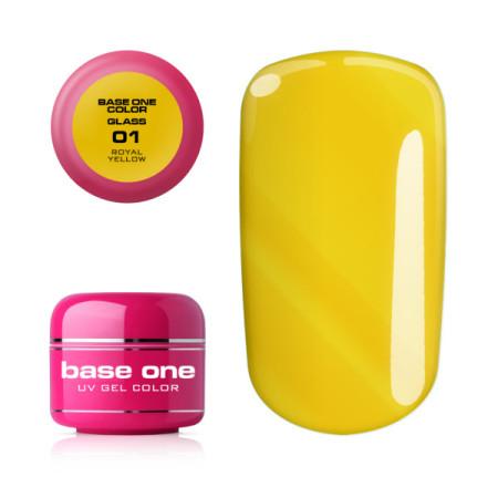 Base one farebný gél - 01 Royal Yellow 5g NechtovyRAJ.sk - Daj svojim nechtom všetko, čo potrebujú