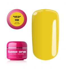 Base one farebný gél - 02 Juice Yellow 5g