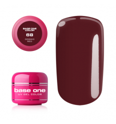 Base one farebný gél 68- Cosmic red 5g