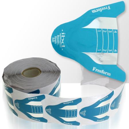 Šablony na nechty v modrej farbe 500ks NechtovyRAJ.sk - Daj svojim nechtom všetko, čo potrebujú