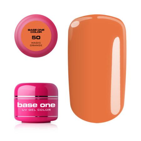 Base one farebný gél 50.Magic Orange 5g NechtovyRAJ.sk - Daj svojim nechtom všetko, čo potrebujú