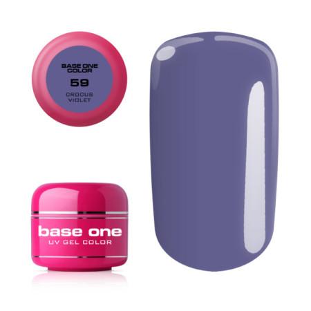 Base one farebný gél Crocus Violet 59 5g
