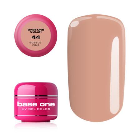 Base one uv farebný gél 44 - bubble pink 5g NechtovyRAJ.sk - Daj svojim nechtom všetko, čo potrebujú