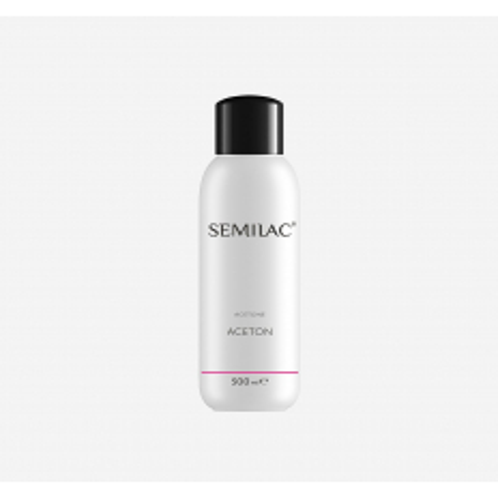 Odstraňovač gél laku Aceton Semilac 500 ml