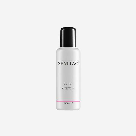 Odstraňovač gél laku Aceton Semilac 125 ml