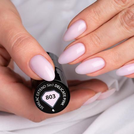 Semilac Extend 5v1 803 Delicate Pink NechtovyRAJ.sk - Daj svojim nechtom všetko, čo potrebujú