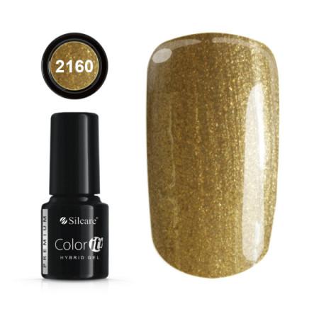 Gél lak Color IT Premium Gold 2160 6g NechtovyRAJ.sk - Daj svojim nechtom všetko, čo potrebujú