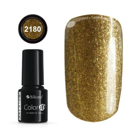 Gél lak Color IT Premium Gold 2180 6g NechtovyRAJ.sk - Daj svojim nechtom všetko, čo potrebujú