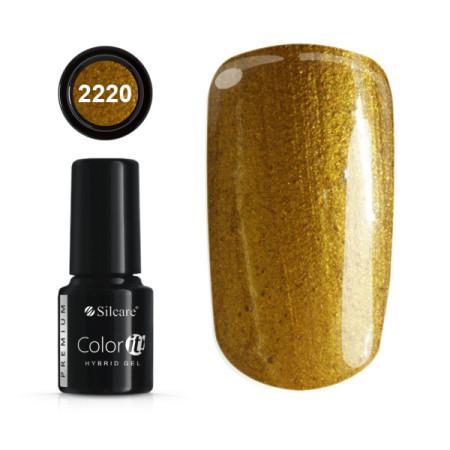 Gél lak Color IT Premium Gold 2200 6g