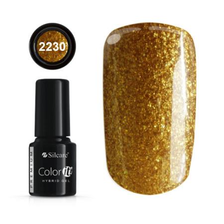 Gél lak Color IT Premium Gold 2230 6g NechtovyRAJ.sk - Daj svojim nechtom všetko, čo potrebujú