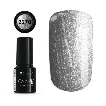 Gél lak Color IT Premium Silver 2270 6g