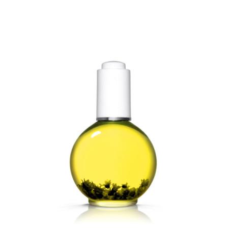 Olejček na nechty 75 ml s kvietkami - broskyňa nature 24