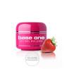 Base one UV gél Clear 50g - Strawberry NechtovyRAJ.sk - Daj svojim nechtom všetko, čo potrebujú