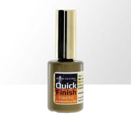 Quick finish Exclusive Elastic - bezvýpotkový 15ml NechtovyRAJ.sk - Daj svojim nechtom všetko, čo potrebujú