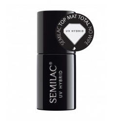 Semilac - Total mat top coat - bezvýpotkový