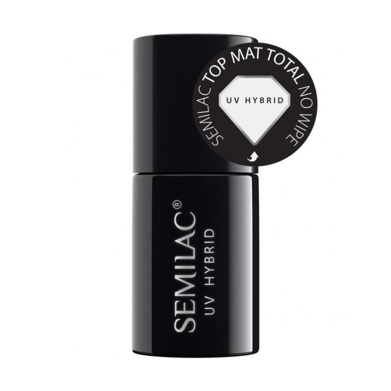 Semilac - Total mat top coat - bezvýpotkový NechtovyRAJ.sk - Daj svojim nechtom všetko, čo potrebujú