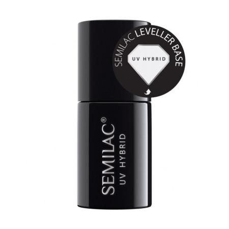 Semilac - leveller samovyrovnávacia báza na zničené a citlivé nechty