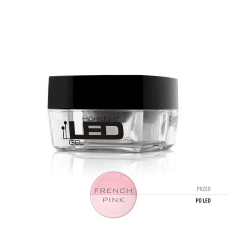 Led gél High Light - french pink 15 g NechtovyRAJ.sk - Daj svojim nechtom všetko, čo potrebujú