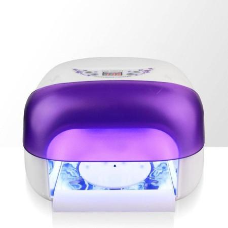 Profesionálna uv lampa s lcd 36 W- fialová NechtovyRAJ.sk - Daj svojim nechtom všetko, čo potrebujú