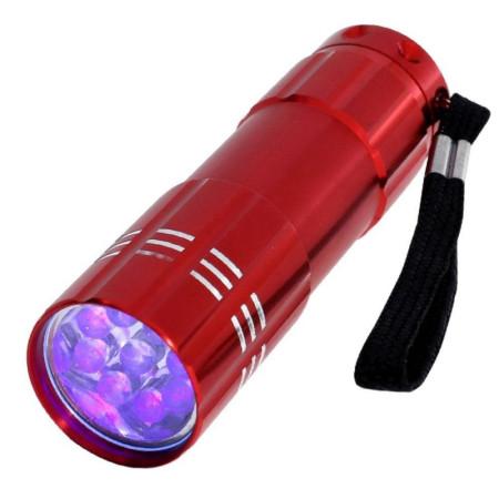 Mini UV LED baterka červená NechtovyRAJ.sk - Daj svojim nechtom všetko, čo potrebujú