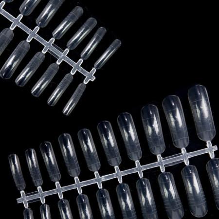 Bluesky formy na nechty číre 240 ks NechtovyRAJ.sk - Daj svojim nechtom všetko, čo potrebujú